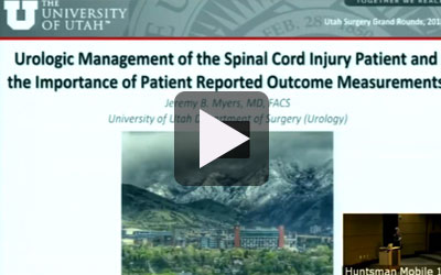 thumbnail of the Urologic Management of the Spinal Cord Injury Patient and the Importance of Patient Reported Outcomes Measures