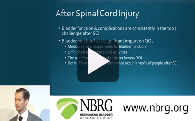 Dr. Blayne Welk, MD, MSc - Neurogenic Bladder Symposium 2017